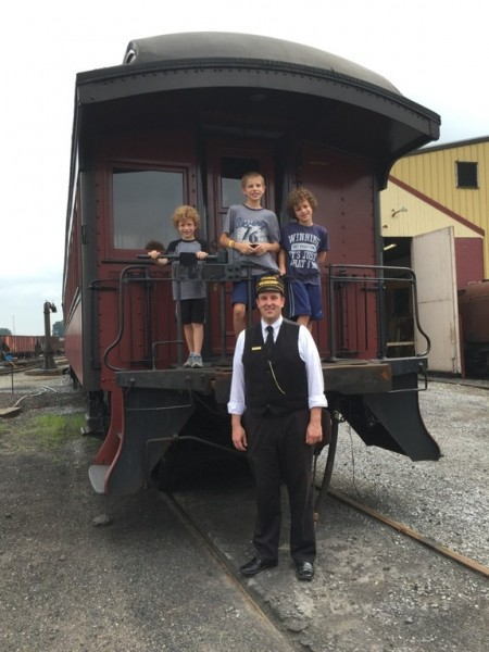 Conductor Eric shared with us his incredible knowledge about the history of the Strasburg Rail Road