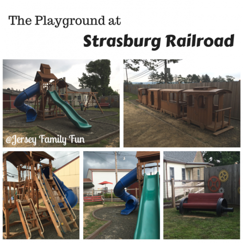 Strasburg Railroad Playground