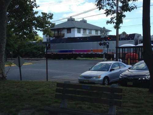 railroad plaza train