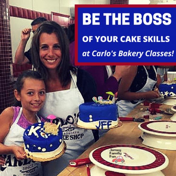Carlos Bakery Cake Classes