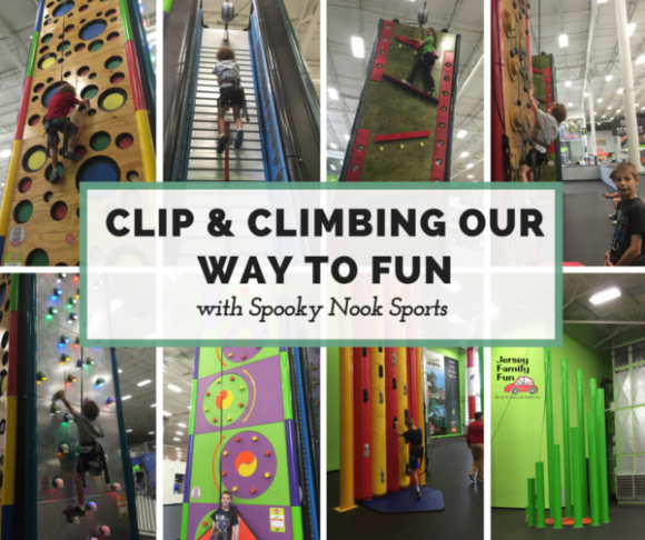 Clip & Climbing Our Way to Fun
