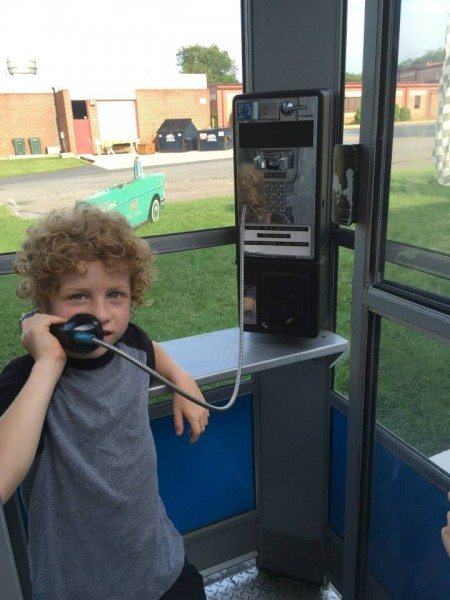 DJ's, A Taste of the 50's phone booth