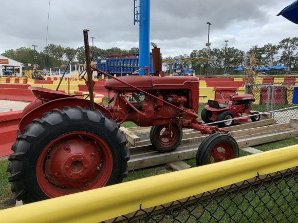 Tractor Pull at Diggerland USA in West Berlin New Jersey