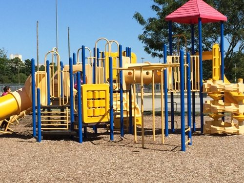 Playground equipment for older children