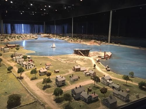 The Mystic River Scale Model