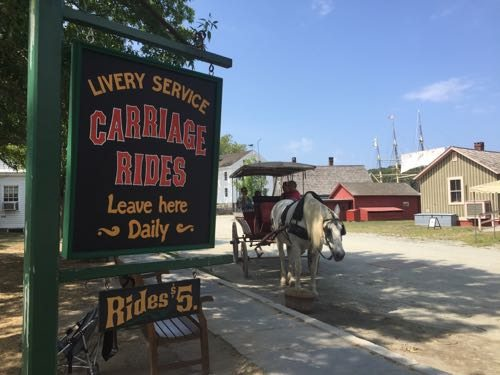 Horse and Carriage rides await!