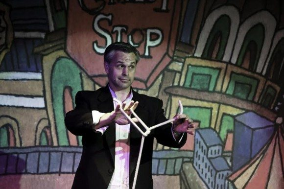 Magician Joe Holiday does magic for families in Atlantic City