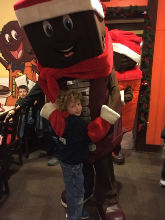 Hersheypark Christmas Candylane with Hershey Bar