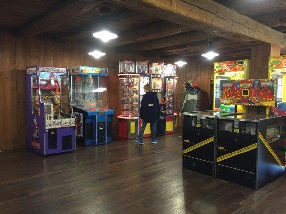 Hersheypark campground game room