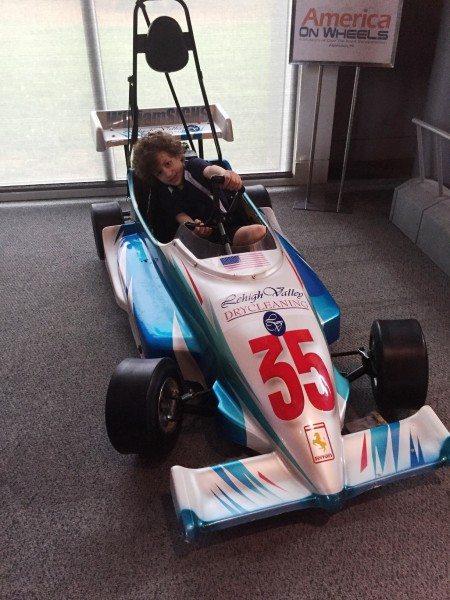 America on Wheels Race Car