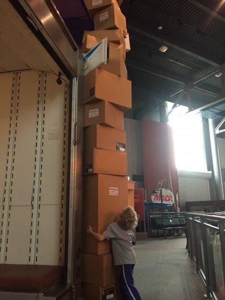 America on Wheels UPS Truck