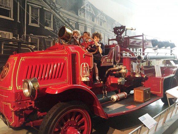 America on Wheels Vintage Fire Truck