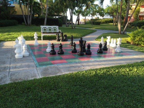 Beaches Turks Caicos Chess Board
