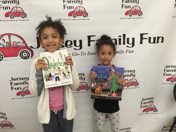 These two girls were super excited to take home these Scholastic Books.