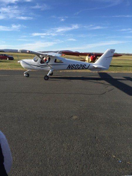 Santa flies in to Solberg Airport