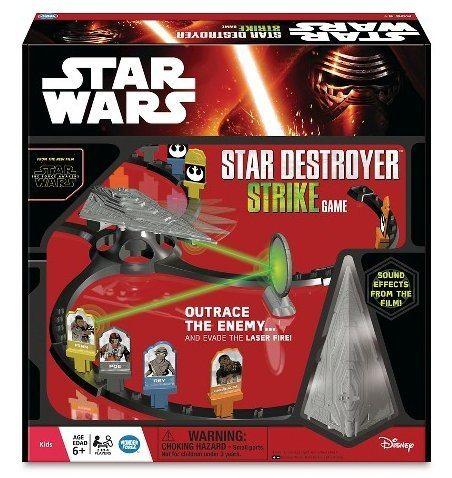 Star Wars The Force Awakens Star Destroyer Strike Game