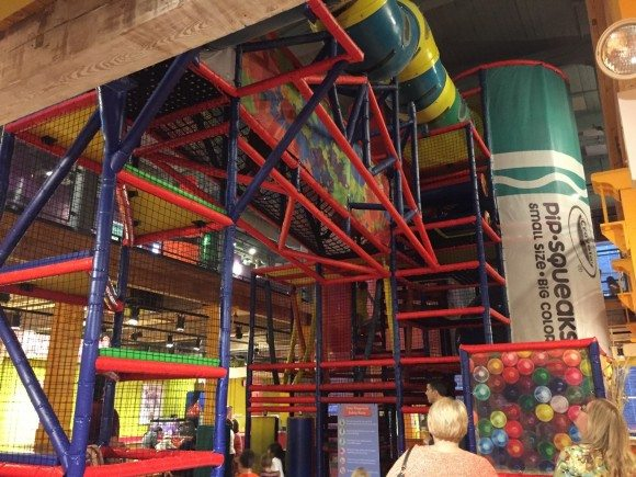 crayola experience jungle gym
