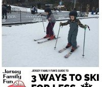 kids skiing for Jersey Family Fun's guide to skiing for less money