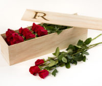 Flower Republic's Sangria Red Rose Bouquet for valentine's day.