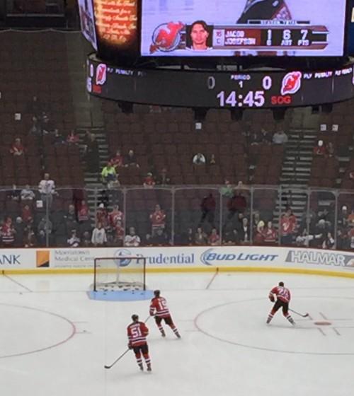 local hockey teams Devils hockey game
