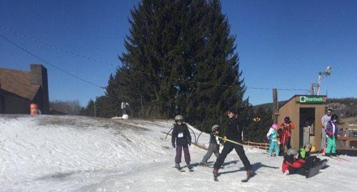 Learning to Ski At Greek Peak Mountain Resort