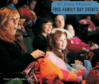 NJ State Theatre Family Day Events in Middlesex County