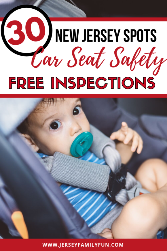There are over 30 locations in New Jersey for free car seat safety inspections pinterest image