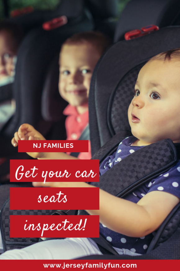 Where can I get my car seat inspected in New Jersey? pinterest image