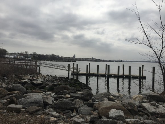 View of the water from 16th Street Park