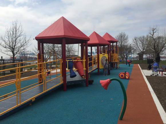 Playground installed in 2016