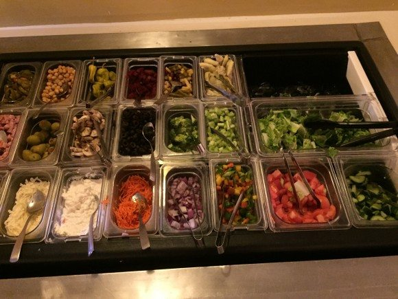 Traditions Restaurant Salad Bar