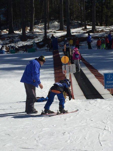 King Pine Ski Area Magic Carpet lift