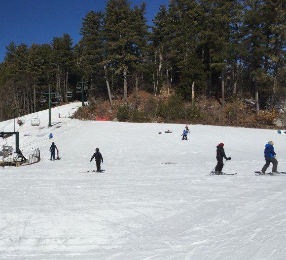 King Pine Ski Area Rope Pull