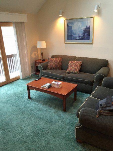 Nordic Village Resort 2 Bedroom Townhome living room