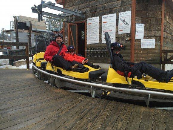 Cranmore Mountain Mountain Coaster starting point