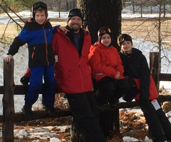 family picture at cranmore