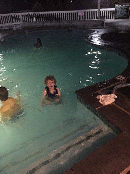 Nordic Village Resort Outdoor Heated Pool