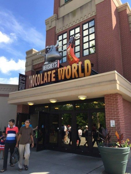 hershey's chocolate world is the focus of one of our Hersheypark writing prompts printables