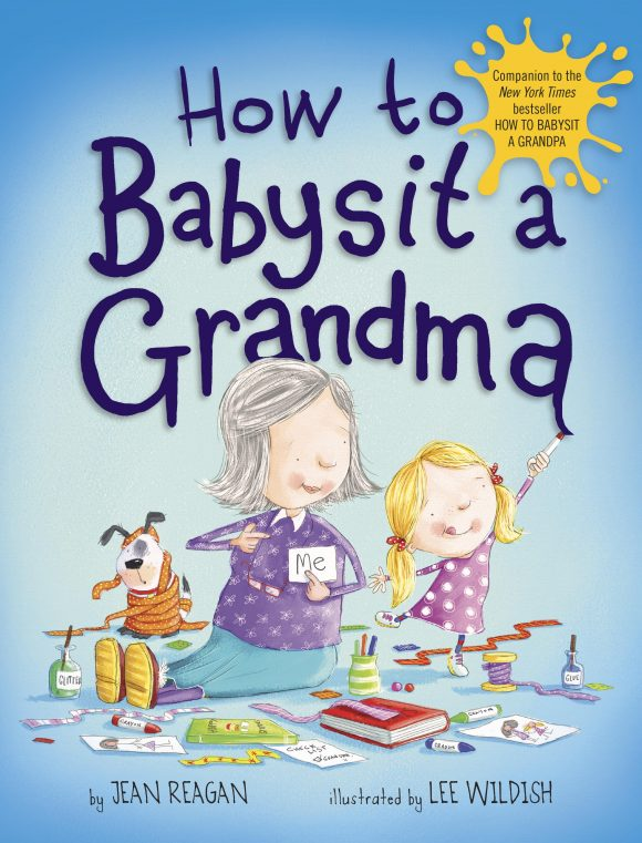 How to babysit a grandma a childrens book about grandmothers