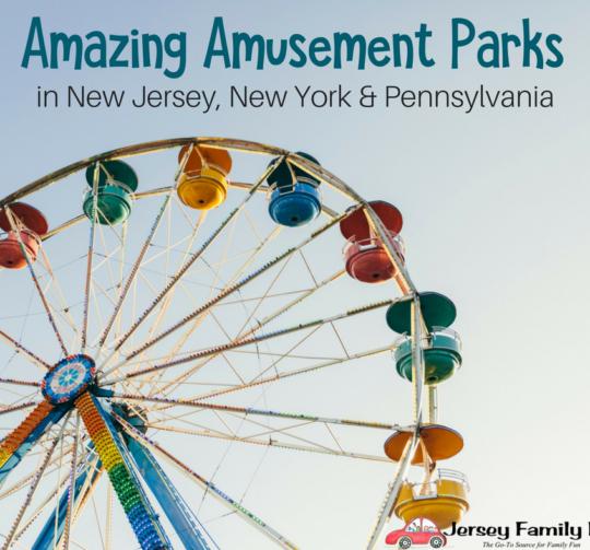 Amazing Amusement Parks in NJ NY PA (FB)
