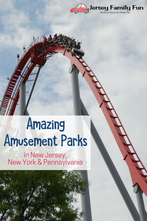 Amazing Amusement Parks in New Jersey (PIN)