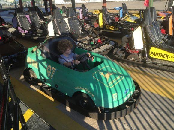 Central Park Funland Race Car