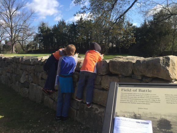Fredericksburg & Spotsylvania National Military Park National Park Stone Wall