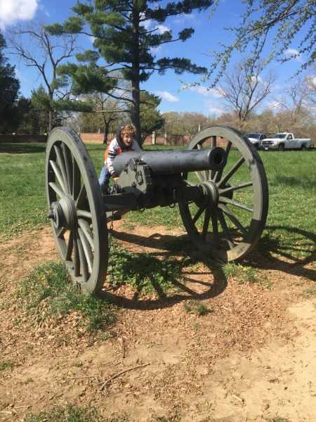 Fredericksburg Battlegrounds Cannon