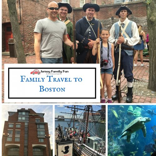 Family Travel toBoston