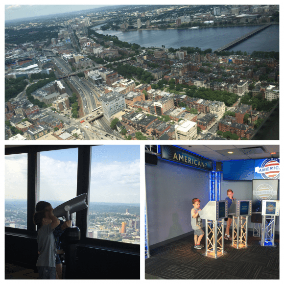 Prudential Tower Skywalk Observatory in Boston