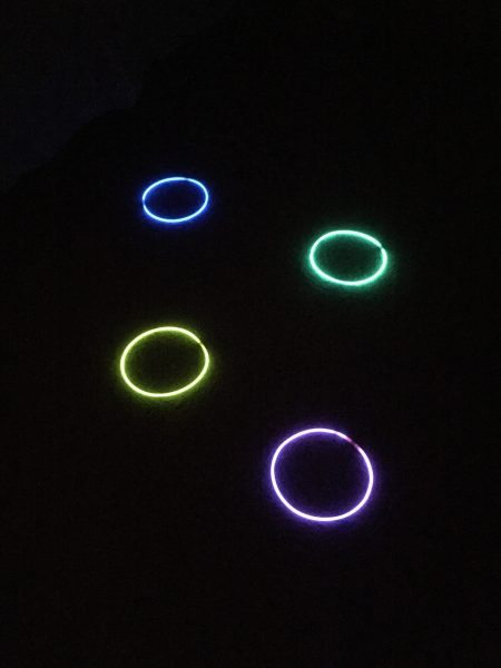 Glow in the Dark Birthday Party games