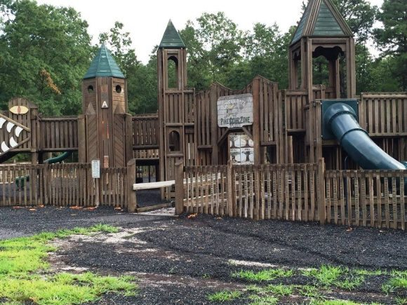 Pine Cone Zone Playground in Mullica Township in Atlantic County New Jersey