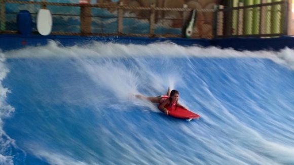 Flow Rider brings the thrills!
