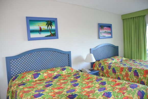 Bahamas family vacation hotel room